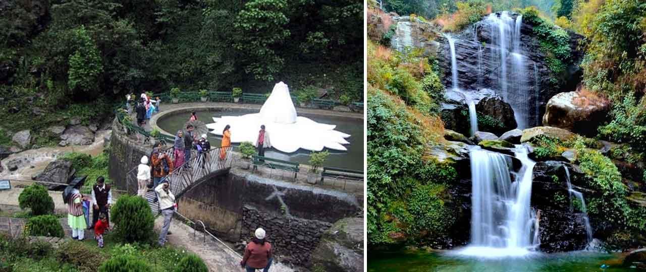 Chunnu Summer Falls and Rock Garden