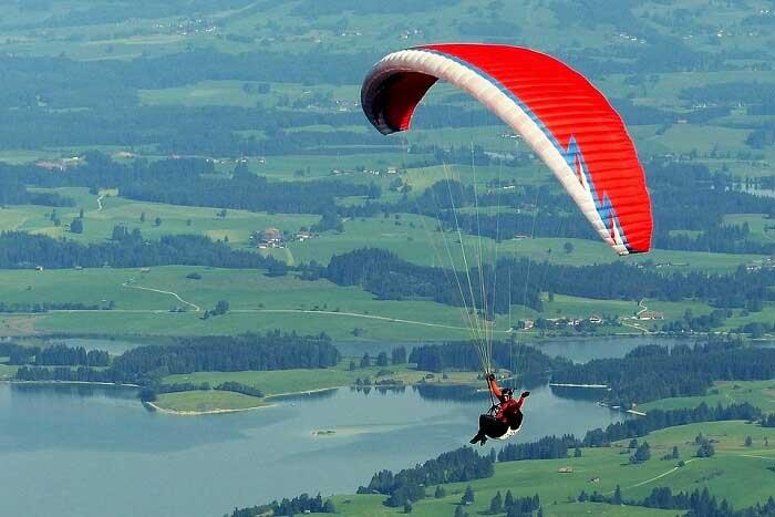 Enjoy Paragliding
