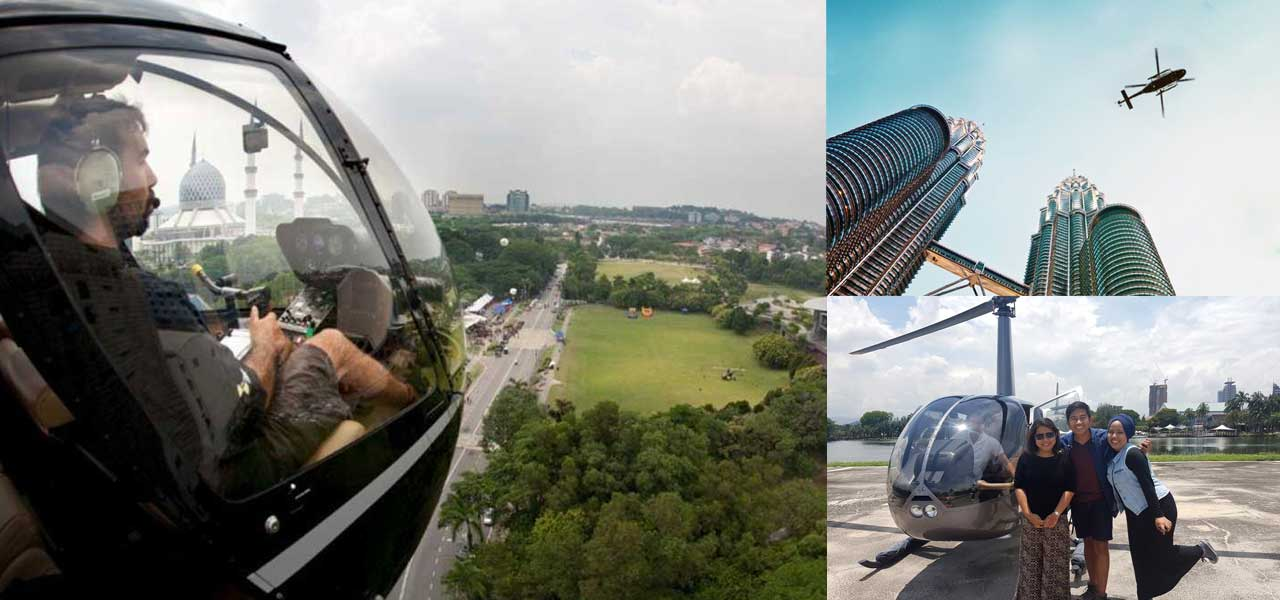 helicopter Sightseeing - Things to Do in Malaysia