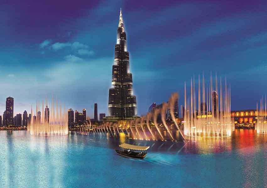 Dubai fountain
