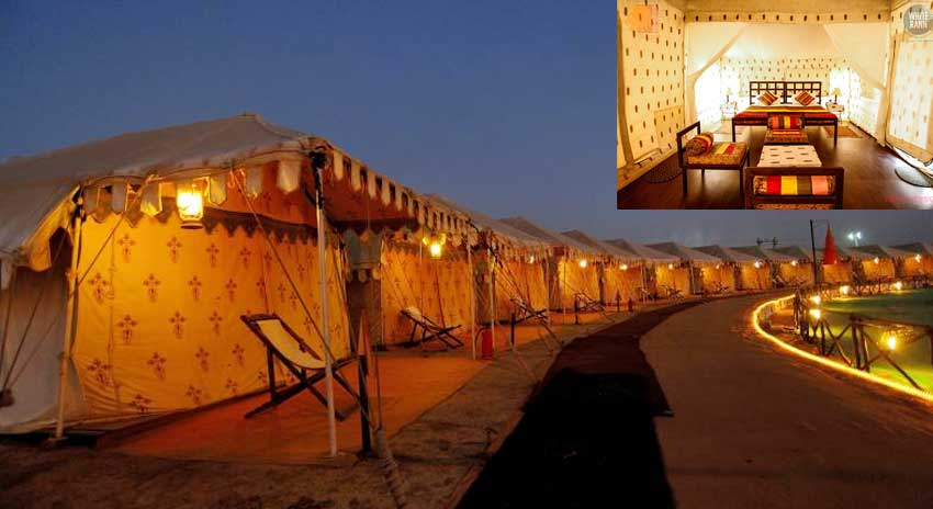 luxury tents Kutch Rann Utsav