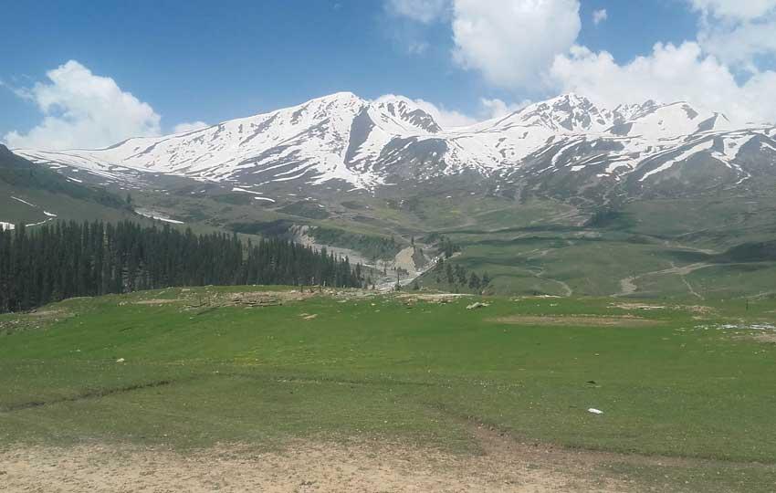 Badgam - honeymoon in Kashmir