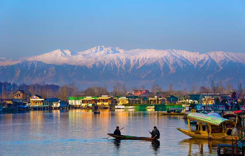 honeymoon in Kashmir