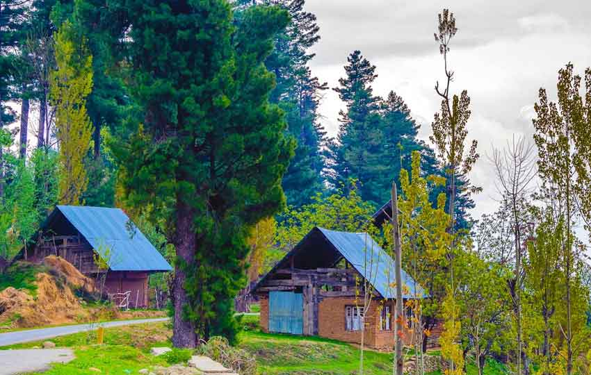 yousmarg - honeymoon in Kashmir