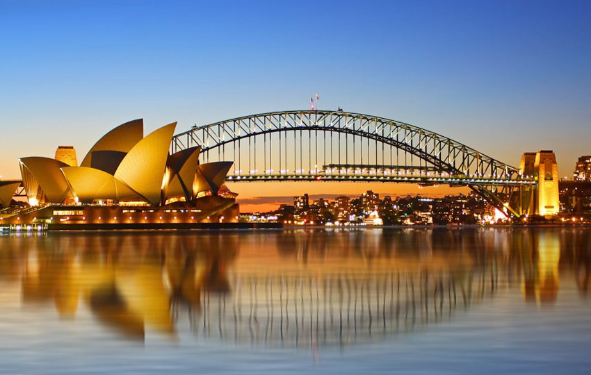 Harbor Bridge of Sydney