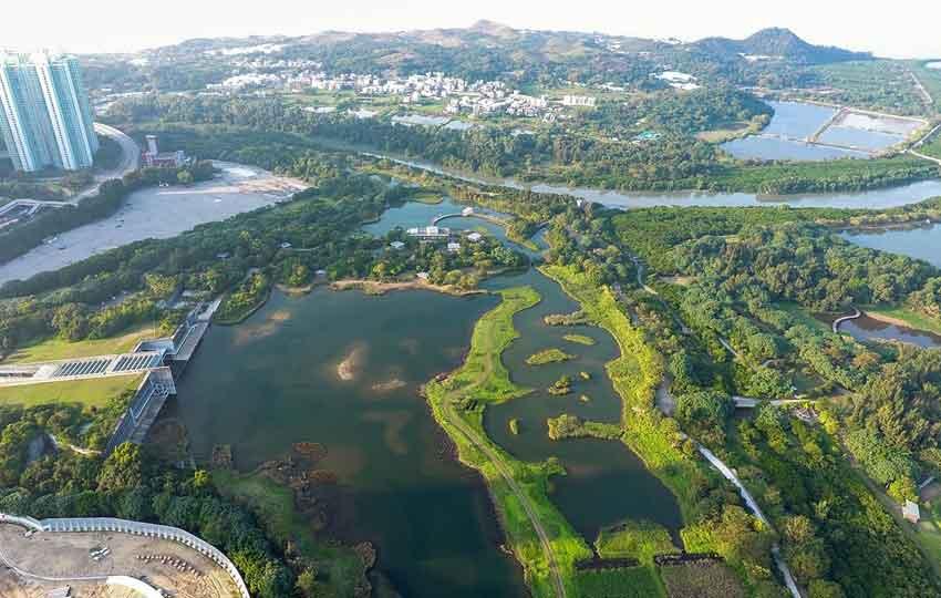 Hong Kong Wet Land Park