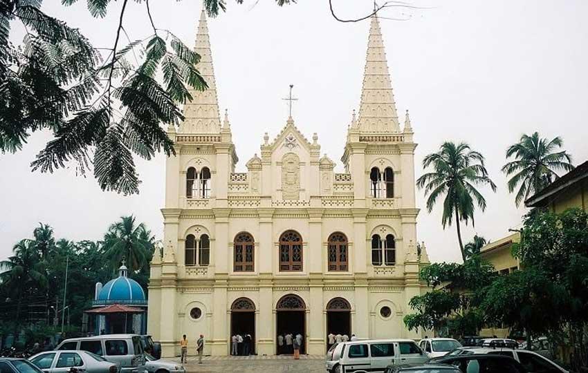 santa cruz church goa