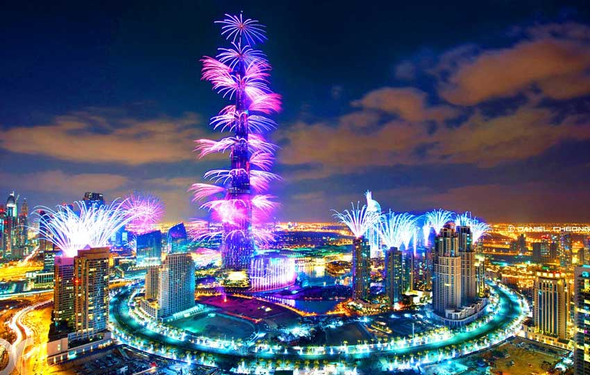 Celebrate New Year in Dubai