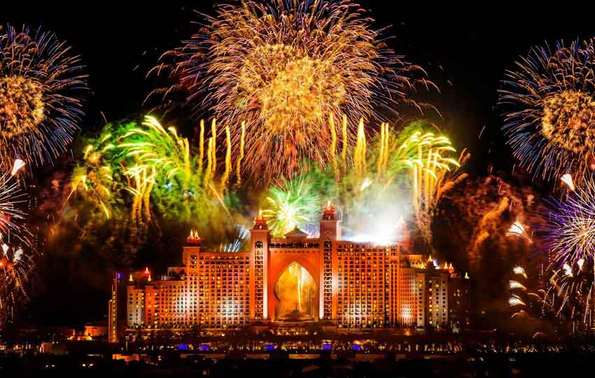 Celebrate New Year in Dubai -Atlantis
