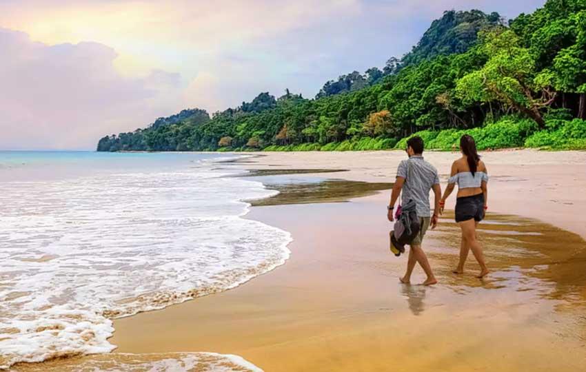 Andaman tour packages -Ramnagar-Beach