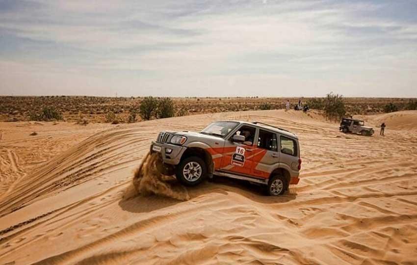 SUV Desert in rajasthan
