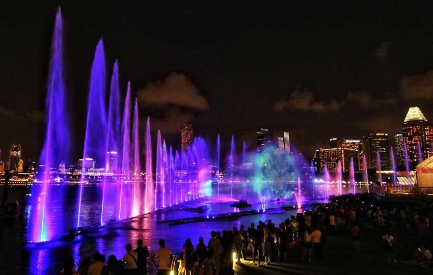 Light Show at Marina Bay