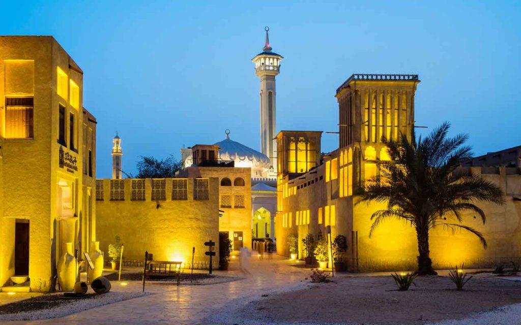The Bastakia Quarter (Bastakia)