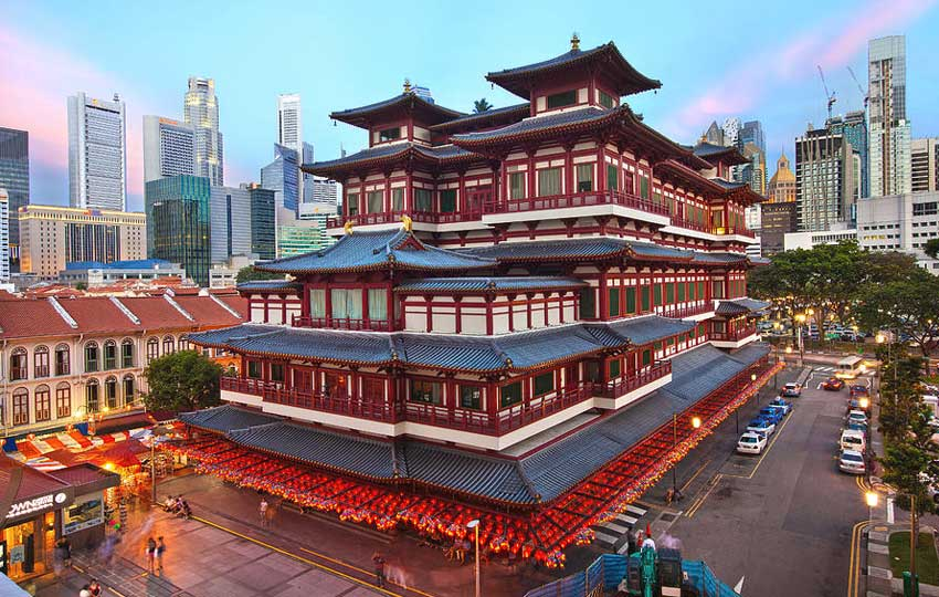 buddha tooth relic temple singapore