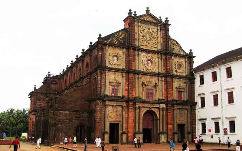 Bom Jesus Basilica goa