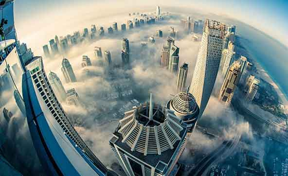 Bird Eye View of Dubai City Tour