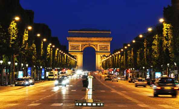 champs elysee tour