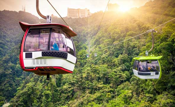 Genting Skyway Cable