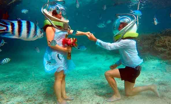 mauritius Under Water Tour package