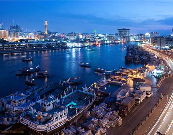 Dubai Creek – The Exotic Sealine